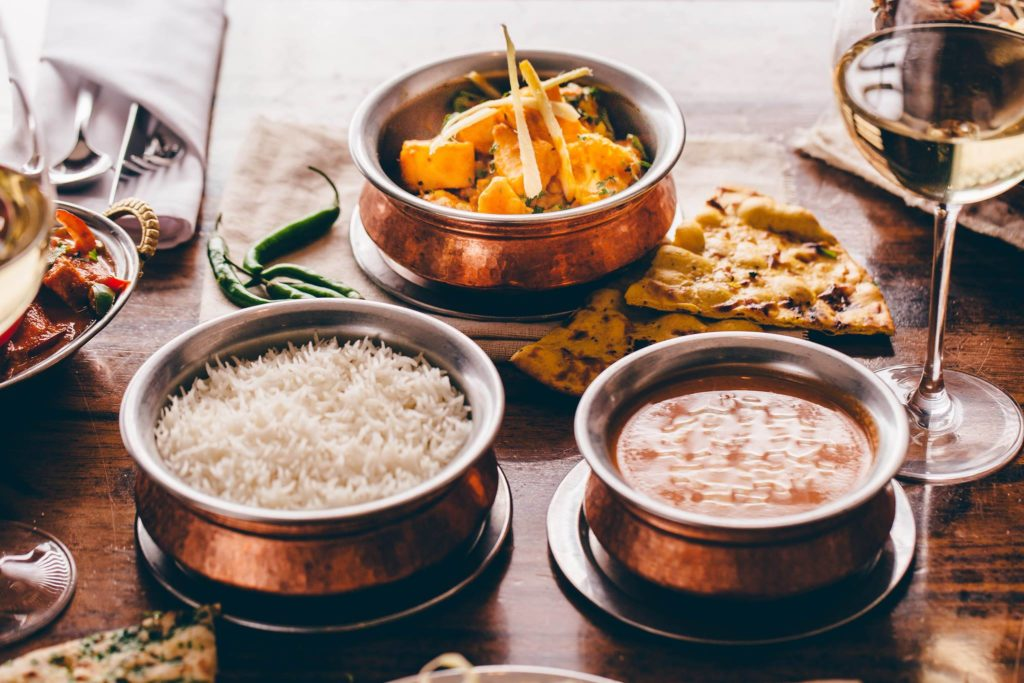 Taster Menu Dishes from Merchant City Indian Restaurants