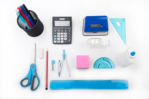 school stationary pens rulers glue scissors picking the best subjects